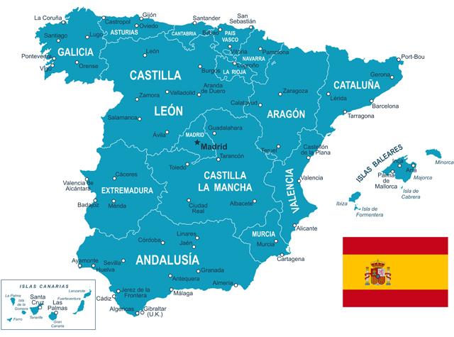 Spanje provincies