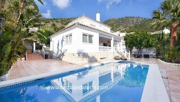 Private villa with heated pool in Buena Vista - Mijas