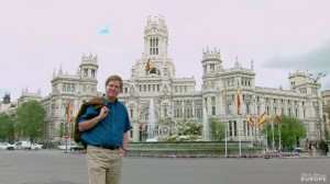 Rick Steves in Madrid