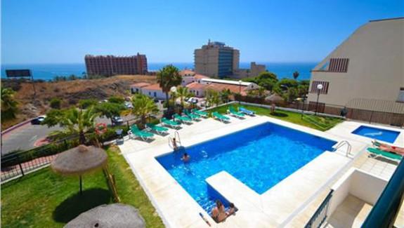 FEA-zwembad Appartement Torrequebrada Benalmadena