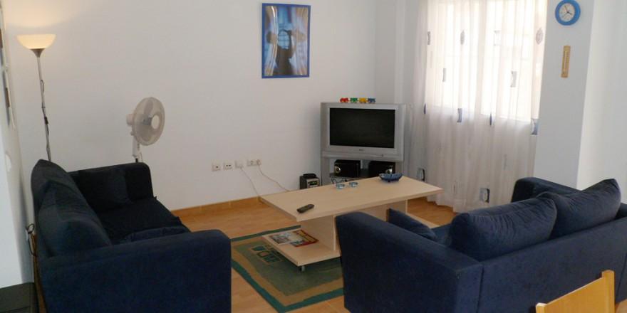 woonkamer-Appartement-Rojales-vakantiehuisinspanje