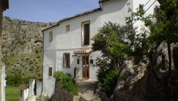 Casa El Corchito, Montejaque, Ronda, Malaga vakantiehuis in spanje.