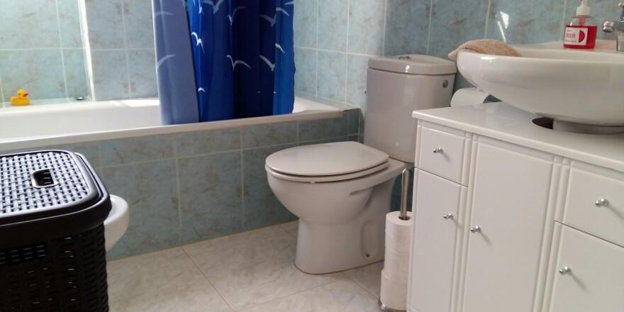 badkamer beneden overzicht